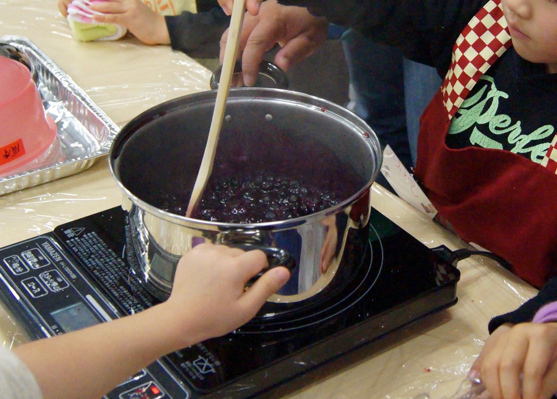 ブルーベリー鍋
