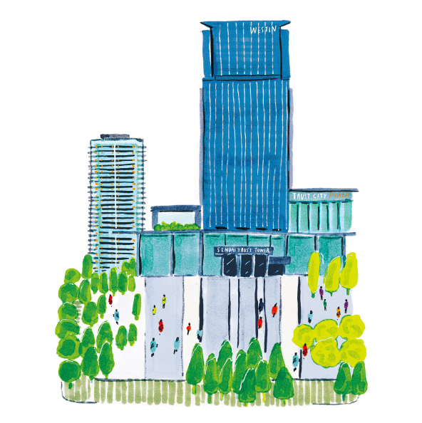 SENDAI-TRUST-PLAZA-building編集